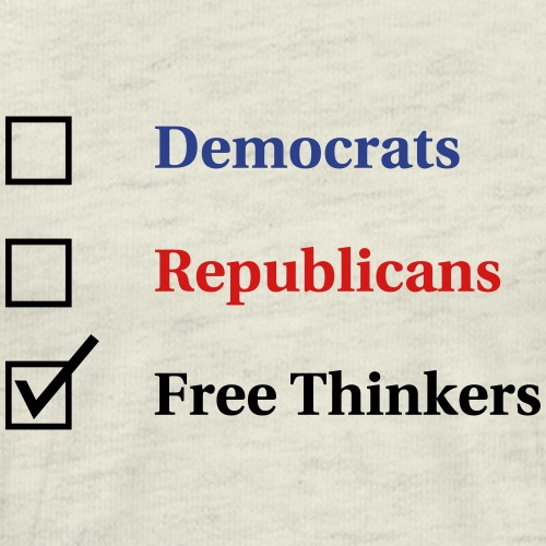 Election Ballot Free Thinkers - Men's Premium T-Shirt