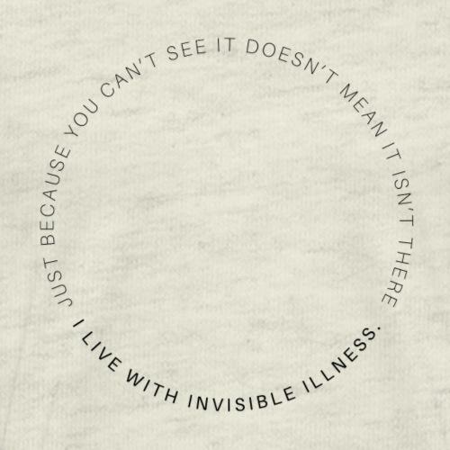 Invisible Illness Dark - Men's Premium T-Shirt