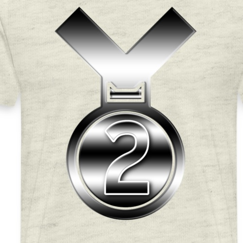 Silver 2nd award for any achievement - Men's Premium T-Shirt