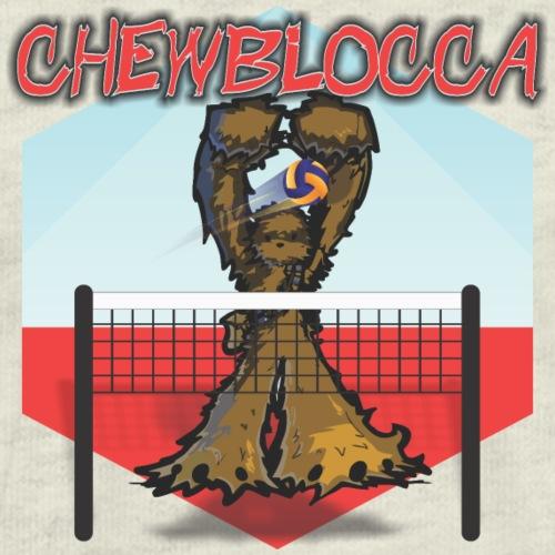 Chewblocca Volleyball Team Logo - Men's Premium T-Shirt