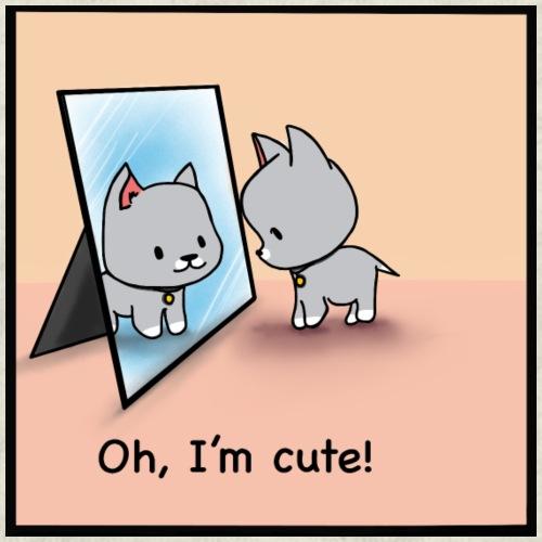 Oh, I'm cute! - Men's Premium T-Shirt