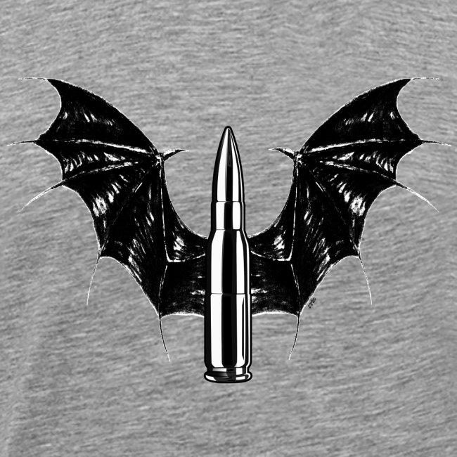 Bullet With Bat Wings