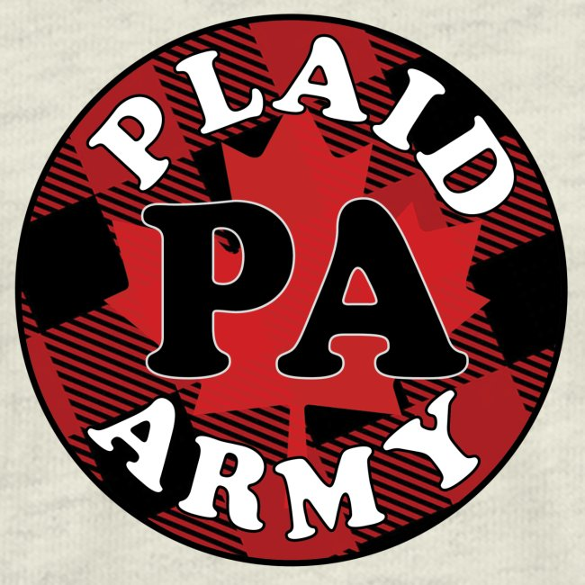 plaid army round