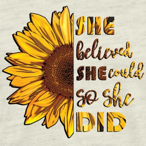 Sunflower Believe - Men's Premium T-Shirt