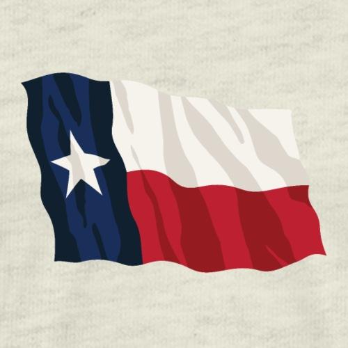 Texas Flag Waving - Men's Premium T-Shirt