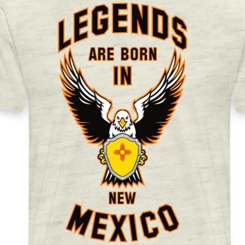 Legends are born in New Mexico - Men's Premium T-Shirt