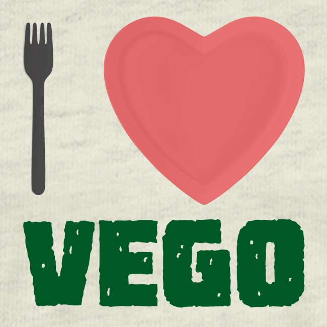 I love Vego - Clothes for vegetarians
