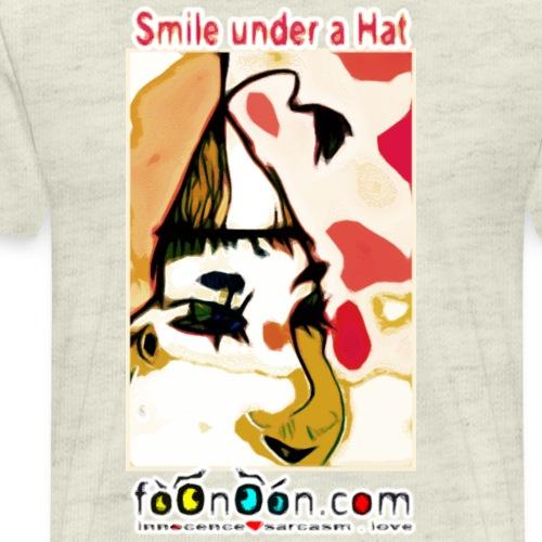 Smile Under a Hat - Men's Premium T-Shirt