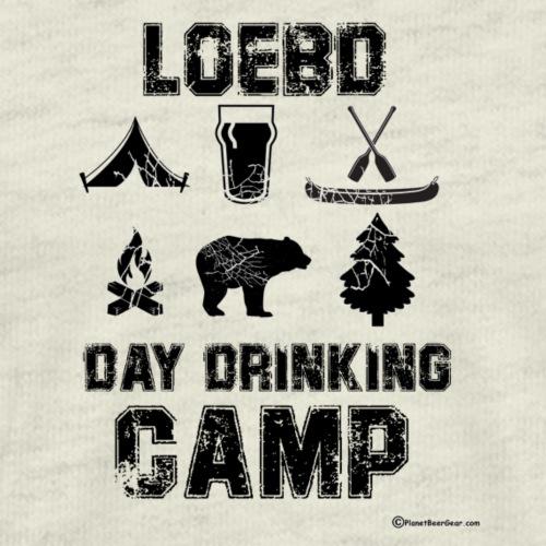 LOEBD Day Drinking Camp - Men's Premium T-Shirt