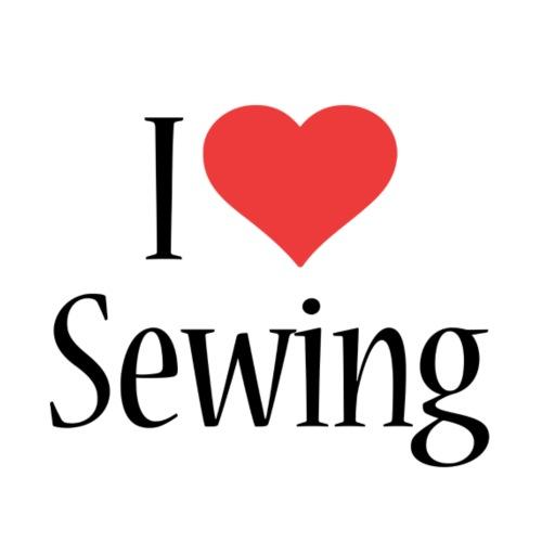 I Love Sewing - Men's Premium T-Shirt