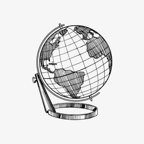 Classic globe - Men's Premium T-Shirt