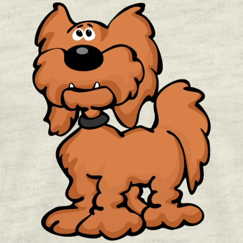 Goldendoodle Dog Cartoon - Men's Premium T-Shirt