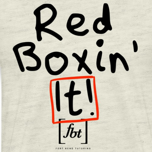 Red Boxin' It! [fbt] - Men's Premium T-Shirt
