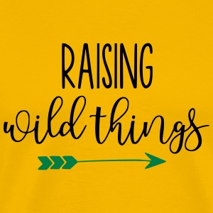 Raising Wild Things Mom Life - Men's Premium T-Shirt