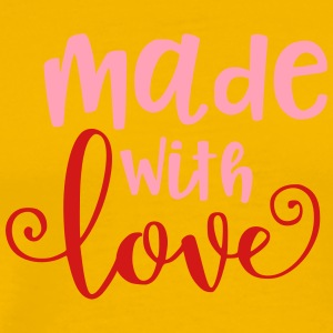 Made With Love Baby Infant Valentine - Men's Premium T-Shirt
