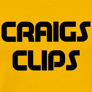 craigs clips - Men's Premium T-Shirt