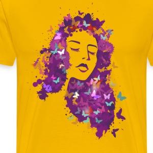Beautiful girl - Men's Premium T-Shirt
