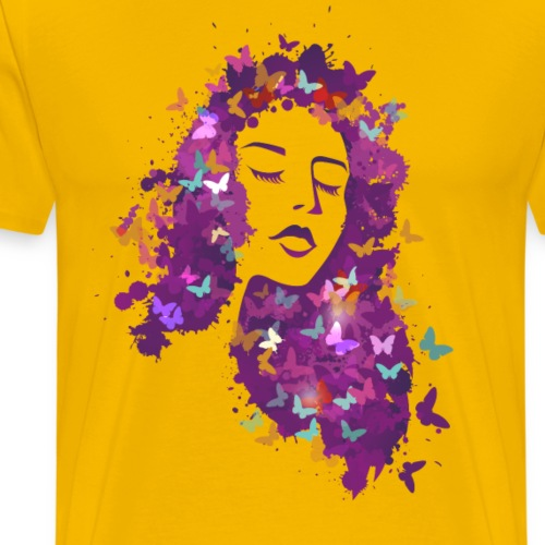 Beautiful girl - Men's Premium T-Shirt