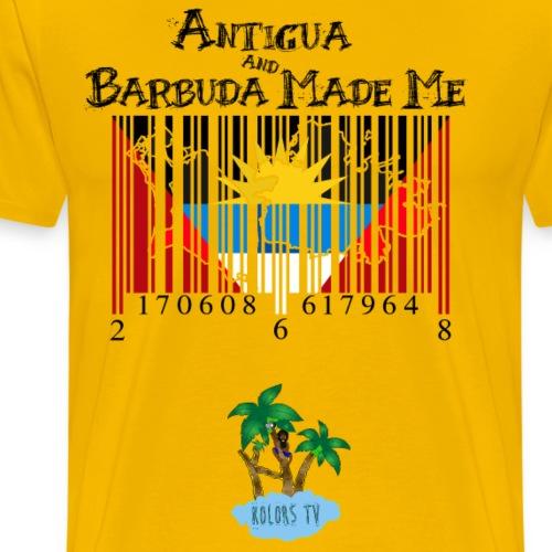 Antigua And Barbuda Made Me - Men's Premium T-Shirt