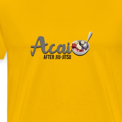 ACAI after Jiu-Jitsu - Men's Premium T-Shirt