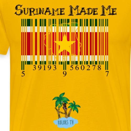 Suriname Made Me - Men's Premium T-Shirt