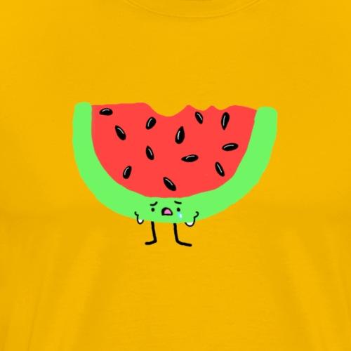 Sad Watermelon - Men's Premium T-Shirt