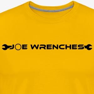 Joe Wrenches Text - Men's Premium T-Shirt