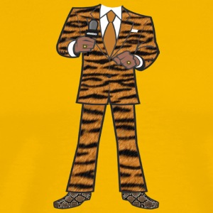 The Tiger Suit - Men's Premium T-Shirt