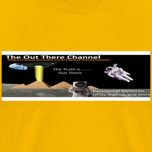 UFO Pyramids TheOutThereChannel ver 2017 - Men's Premium T-Shirt