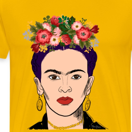 Kahlo - Men's Premium T-Shirt