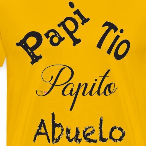 Papi (Dad in Spanish) - Men's Premium T-Shirt