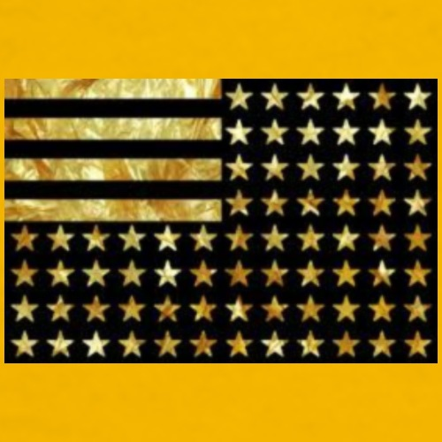 Gold flag - Men's Premium T-Shirt