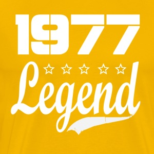 77 Legend - Men's Premium T-Shirt