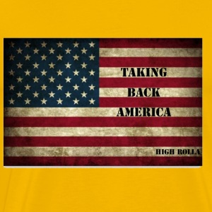taking back America - Men's Premium T-Shirt
