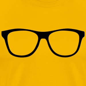 clear glasses - Men's Premium T-Shirt