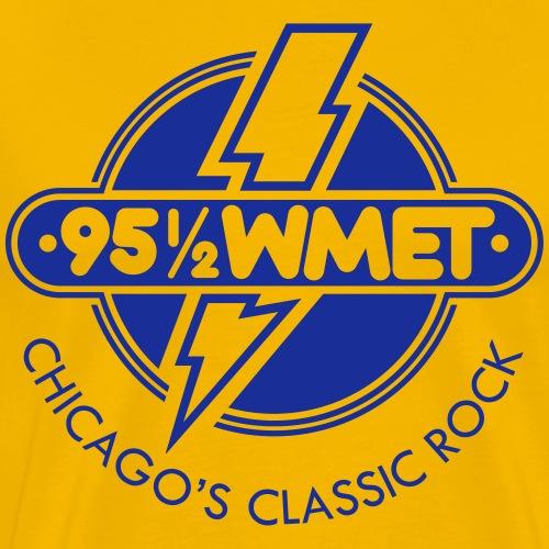WMET logo (variable color) - Men's Premium T-Shirt
