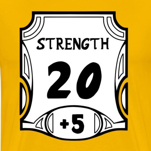 Alternate All of the Strength - Men's Premium T-Shirt