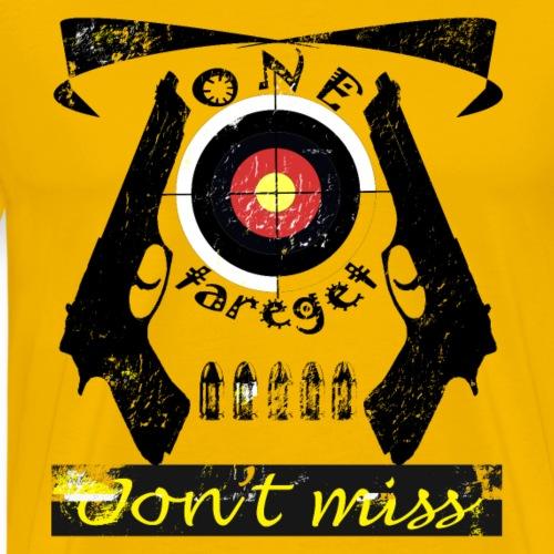one target - Men's Premium T-Shirt
