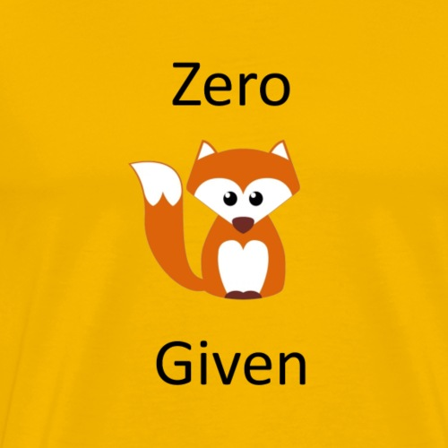 zeroFG - Men's Premium T-Shirt