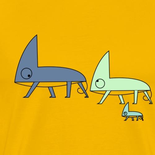 Chameleon Family - Men's Premium T-Shirt