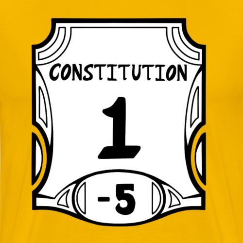 Alternate None of the Constitution - Men's Premium T-Shirt