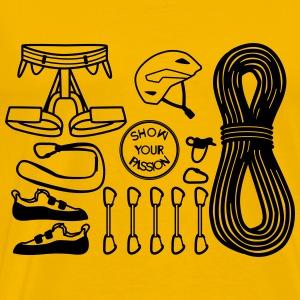 Climbing Equipment#2 - Men's Premium T-Shirt