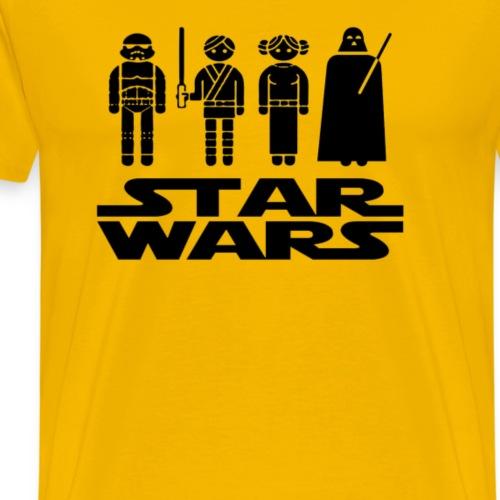 Star Wars - Men's Premium T-Shirt