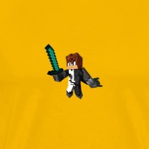 The Demon Within Series Apoc The Hero - Men's Premium T-Shirt