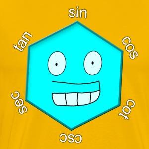 Magic Hexagon without name - Men's Premium T-Shirt