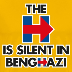 The H is Silent in Benghazi - Men's Premium T-Shirt