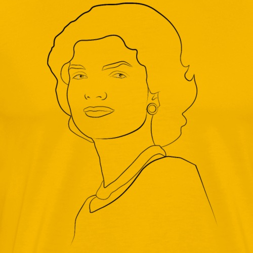 Jackie Kennedy - Men's Premium T-Shirt