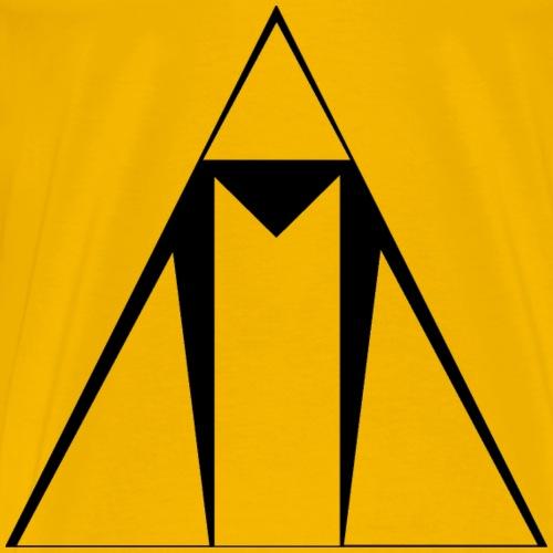 ASCEND Black Outline - Men's Premium T-Shirt