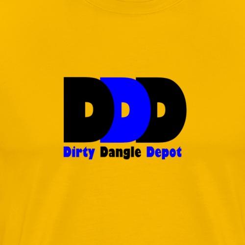 DDD Black/Royal/Black - Men's Premium T-Shirt