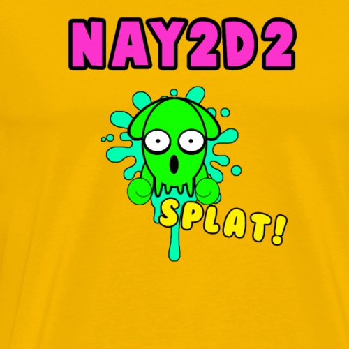 Squid SPLAT! - Men's Premium T-Shirt